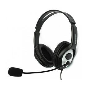 Audifonos Negros Con Microfono Microsoft Lx-3000 Jug-00013