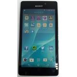 Sony Xperia M2 Aqua D2403 8gb 4g Preto Vitrine