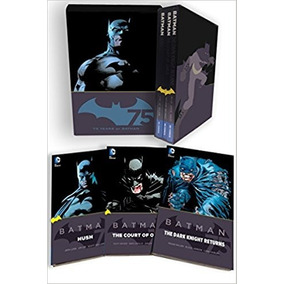 Batman 75th Anniversary Box Set Livro Scott Snyder