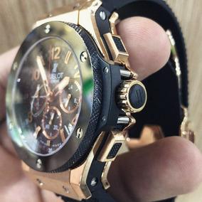 4876b5985c0 Relogio Hublot Big Band Red Gold - Relógios no Mercado Livre Brasil