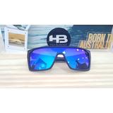 c7efcae7c Óculos Hb Carvin 2.0 Matte Black Blue Chorme Lançamento