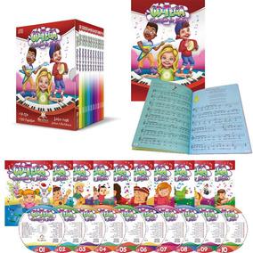 Livro Cd Teca Cantigas De Roda Box Com 10 Cds