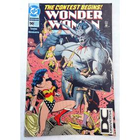 Wonder Woman Nº 90 - Mike Deodato Jr - Dc Comics - 1994