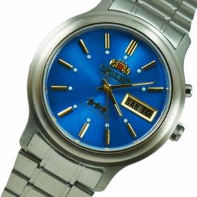 335b4521acf Relógio Winner Racing Com Fundo Azul Automático - Joias e Relógios ...