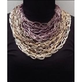 Cuellos De Tejido Fino A Crochet