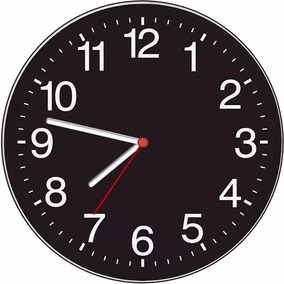 08882f16f3c Relógio Parede Decorativo Sala Cozinha Barato Preto + Cores