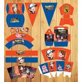 Kit De Fiesta De Gravity Falls Imprimible