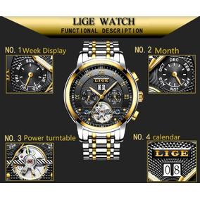 Relógio Lige Original 4 Mostradores Masculino Prova D