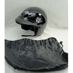Capacete Harley Davidson Aberto Face 3/4 Jet Gloss