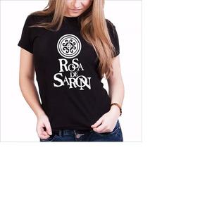 8c0ee53aed Camisetas Personalizadas Rosa De Saron Estampas - Camisetas e Blusas ...