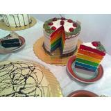 Torta Arcoíris Por Encargo