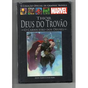 Coleção Marvel Graphic Novels Ed 135 Thor Deus Do Trovão