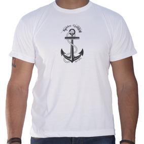 Camiseta Masculina Sandro Clothing Âncora Branca