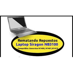 Vendo Repuestos Laptop Siragon Nb3100