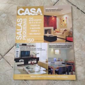 Revista Casa Claudia Antiga Esp. Salas Pequenas 25 Projetos