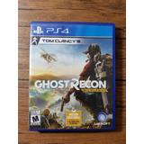Tom Clancys Ghost Recon Wildlands Playstation 4 Ps4 Buen Est