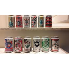 Lote De Latas De Cerveja De Times Dos Anos 90