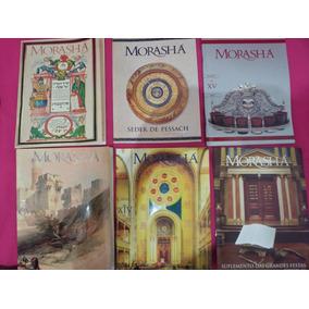 Lote 45 Revistas Morashá 2007 À 18 \ Judeu, Judaísmo, Israel