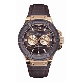 Relógio Masculino Guess Gold W0040g3