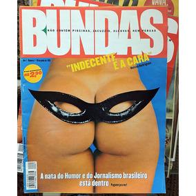 Revista Bundas - Lote Com 11 Revistas - Inclui A Nº 1 - 1999