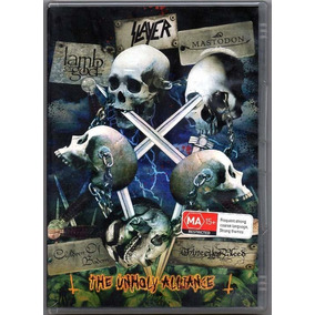 Slayer Dvd The Unholy Alliance Mastodon Lacrado Frete Gratis