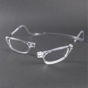 342626e1736fb Armação Óculos Leitura Clikko Cristal Com Imã-prático