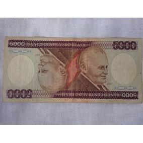 Cédula De 5000 Cruzeiros 1984 C168 Bc