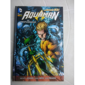 Aquaman - Os Novos 52! - Encadernado - Ed Panini - 2014