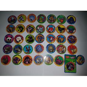 Tazo Zapao Figurinhas Zapao Ping Pong Colecao Completa Tazos