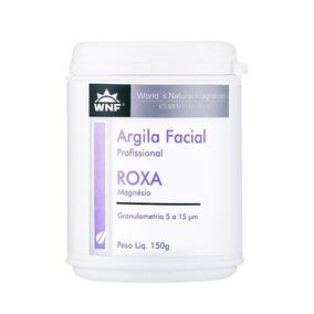 Argila Facial Profissional Roxa 150g Wnf