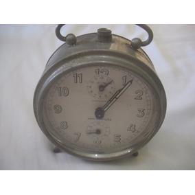 4f7bf3c5d2f Despertador Antigo Junghans Alemão - Relógios Antigos no Mercado ...