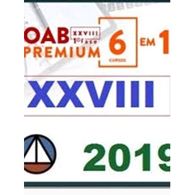 Oab Xxviii 28 1 Primeira Fase Combo Teoria E Questões 2019