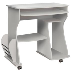 Mesa Escrivaninha Computador Branco 003092 Artely