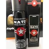 Spray De Pimenta Nato 10 Unidades Black 110ml Imbativel !!!