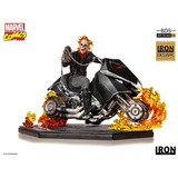 Ghost Rider Bds 1/10 Marvel Comics Iron Studios Ccxp