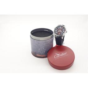 Relógio Condor Borracha Prata