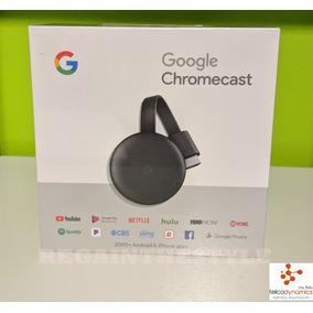 Google Chromecast 3rd Gen Original Con Garantia