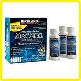 Mino-xidil 5% X3 Frascos 60ml Barba Cabello + Gotero