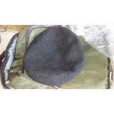 Boina Negra Militar Paño Lana Talla 56 57 8c5335a343a