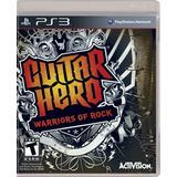 Guitar Hero Warriors Of Rock Ps3 (en D3 Gamers)