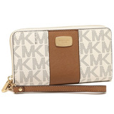 d45589f71c90f Carteira Michael Kors Importada Original Center Stripe