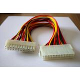 24 Pin Male To 24 Pin Female Internal Pc Psu Power Adapter