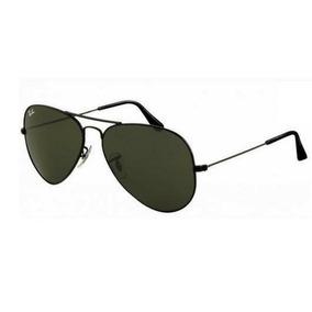 Ray Ban 3025 Aviador Preto Tamanho Grande - Óculos no Mercado Livre ... 9aef700090