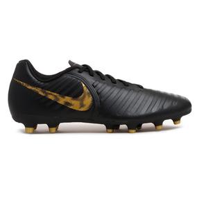 Chuteira Nike Campo Tiempo Legend 7 Club Preta - Original 30551b713077a