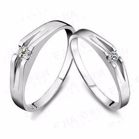 Cz Silver Ring Set