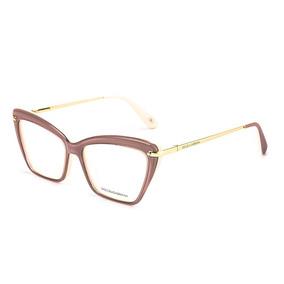 e9e433125f6cc Armação Redonda Nude C  Detalhe Dourado. Bahia · Armação Oculos P  Grau  Feminino Dg46 Acetato Metal Original