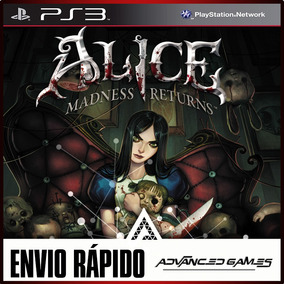 Alice Madness Returns - Jogos Ps3 Midia Digital
