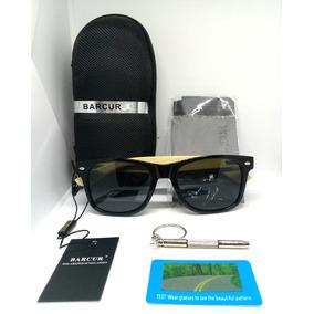 Óculos De Bambú Escura - Óculos no Mercado Livre Brasil 3b03fecb52