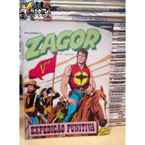 Zagor Nº 16 Expedição Punitiva Editora Rio Gráfica Ótimo
