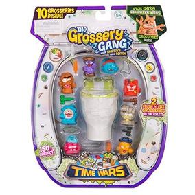 The Grossery Gang Serie Time Wars Set De 10 | 2 Sorpresas